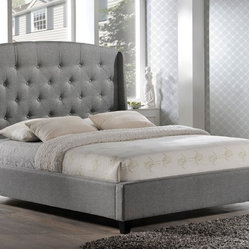 Upholstered King Bed Home Products on Houzz
