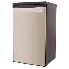 Sunpentown 2.8 Cu. Ft. Upright Energy Star Rated Freezer - Stainless Steel