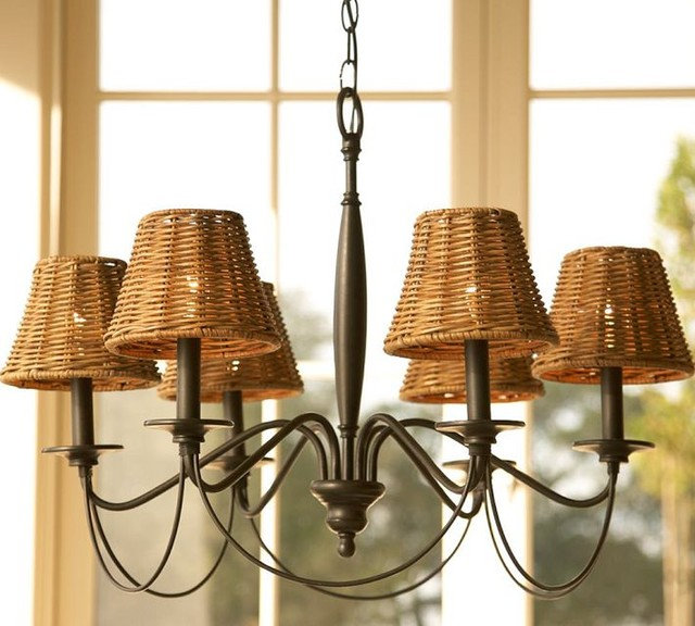 Contemporary Chandeliers by Pottery Barn