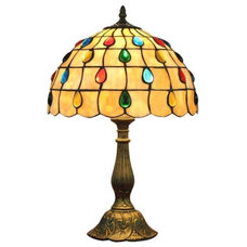 Traditional Table Lamps by ParrotUncle