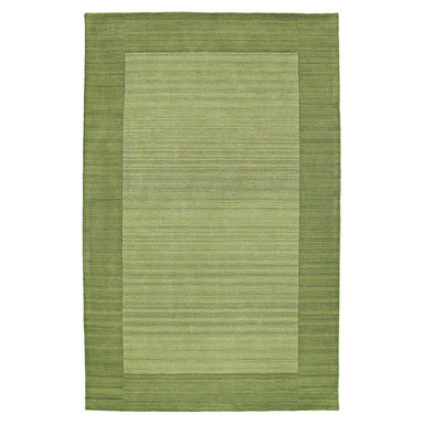 """Kaleen - Kaleen Regency Regency (Celery) 5' x 7'9"""" Rug - Regency offers an array of fourteen beautifully elegant subtle tones for today's casual lifestyles. Choose from rich timeless hues shaded with evidence of light brush strokes. These 100% virgin wool, hand loomed rugs are sure to add comfort and warmth to any setting. Hand crafted in India."""
