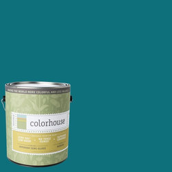 Inspired Semi-Gloss Interior Paint, Dream .06, Gallon - Colorhouse paints are zero VOC, low-odor, Green Wise Gold certified and have superior coverage and durability. Our artist-crafted colors are designed to be easy backdrops for living. Colorhouse paints are 100% acrylic with no VOCs (volatile organic compounds), no toxic fumes/HAPs-free, no reproductive toxins, and no chemical solvents.