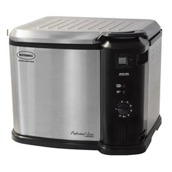 MasterBuilt - Butterball XL GEN II Indoor Electric Turkey Fryer - The Butterball Indoor Electric Turkey Fryer is so safe that it's certified to operate indoors,on our kitchen counter top to enjoy anytime. The Butterball features a one of a kind design that's engineered to keep you safe.