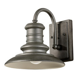 Feiss - Feiss OL8600TRD Redding Station 1 Light Tarnished Outdoor Wall Sconce - Finish: Tarnished