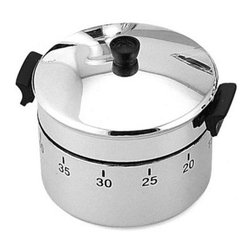 Kito - Silver and Sleek Kitchen Stock Pot Appliance Shaped Kitchen Timer - This gorgeous Silver and Sleek Kitchen Stock Pot Appliance Shaped Kitchen Timer has the finest details and highest quality you will find anywhere! Silver and Sleek Kitchen Stock Pot Appliance Shaped Kitchen Timer is truly remarkable.