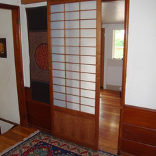 asian interior doors by Portlandshojiscreen