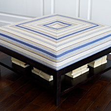 Contemporary Footstools And Ottomans by Libby Langdon Interiors, Inc.
