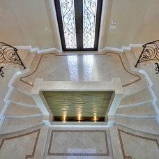 Mediterranean Entry by Rossi Knapp Design
