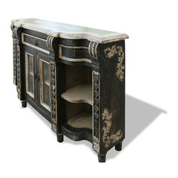 Buffets and Sideboards - Would you love to live with old-world inspired designs and elaborate hand painted home decor pieces?