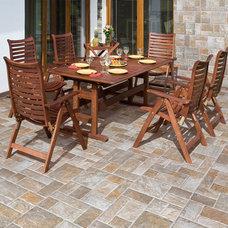 Mediterranean Floor Tiles by Designer Tile Plus