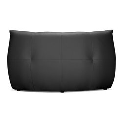 Zuo Modern - Zuo Modern Carnival Modern Corner Sofa / Chair X-095009 - Like curling up in someone's arms, the Carnival sectional set is wrapped in a soft leatherette, padded and tufted in all the right ways. Comes in espresso, black and white.