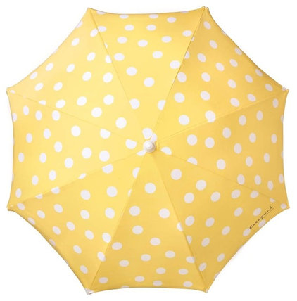 mediterranean outdoor umbrellas Polka Dot Beach Umbrella