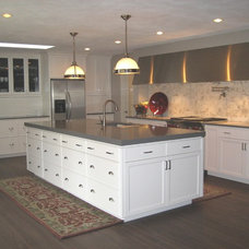Traditional Kitchen by KL Cabinetry Design