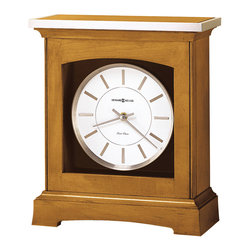 Howard Miller - Howard Miller Dual Chime Kieninger Movement Mantel Clock | Urban Mantel - 630159 Urban Mantel