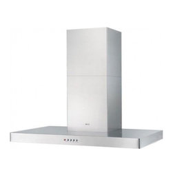 """Faber - Stilo Designer STIL36SS 36"""" Chimney Wall Mount Chimney Range Hood With 600 CFM I - The STILxxSS Designer chimney wall mount range hood is part of Faber39s Stilo series of range hoods The 3 speed 600 CFM PRO internal blower will provide all the ventilation that you will need for your kitchen The 24 30 and 36 comes with 2 halogen lig..."""