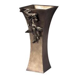 Sterling Industries - Humming Bird Vase - Humming Bird Vase