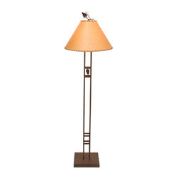 Steel Partners Inc - Floor Lamp - SCOTTSDALE - Every piece we create is unique — handcrafted at our factory in Chehalis, Washington, USA. Due to this, lead times are 2 to 4 weeks.