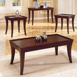 Homelegance - Zen 3-Piece Occasional Table Set - Includes one cocktail and two end tables