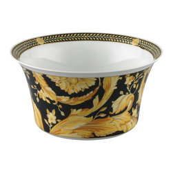 Versace - Versace Vanity Open Vegetable 56 oz 8 - Versace Vanity Open Vegetable 56 oz 8   ***   Since the late 1970s the Versace brand has been synonymous with Italian luxury. For over 30 years their products have been known for uncompromising design as well as their sensual style and peerless craftsmanship. Many of our Versace Italian dinnerware sets are adorned with the famous medusa logo and offer a touch of Italian fashion and luxury to any meal. Shop our selection today to find a new porcelain dinner service that's sure to impress even the most persnickety guest.