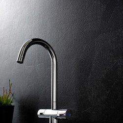 Graham & Brown - Puzzle Wallpaper - A fashion forward approach to a semi-plain. Puzzle combines a high gloss finish in a new mosaic style. Perfect for achieving a subtle yet stunning look. This black wallpaper is a great choice to make a bathroom or kitchen contemporary.
