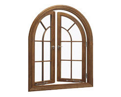 Push Out French Casement Window - This window is perfect for an unobstructed view when your bedroom overlooks the Pacific, but it's more likely appropriate when it's time to replace the builder-grade materials with long-lasting beauty.