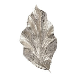 Silver Leaf Wall Art