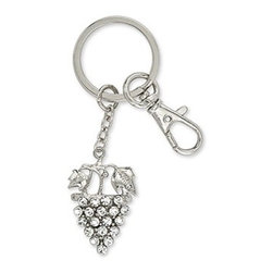 Epic - Intricate Design White Grapes On Vine Detailed Rhinestone Keychain - This gorgeous Intricate Design White Grapes On Vine Detailed Rhinestone Keychain has the finest details and highest quality you will find anywhere! Intricate Design White Grapes On Vine Detailed Rhinestone Keychain is truly remarkable.