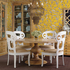 eclectic dining tables by High Fashion Home