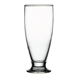 Hospitality Glass - 6.75H X 3T X 2.5B Cin Cin 16 oz Beer / Cooler Glasses 48 Ct - Cin Cin 16 oz Beer / Cooler