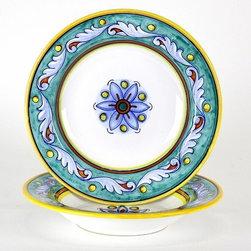 Artistica - Hand Made in Italy - Giada: Pasta/Soup Bowl - Giada Collection: