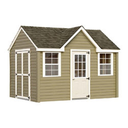 Fifthroom - Chalet Shed with Vinyl Siding -