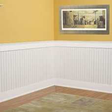 Wainscotting And Using Beadboard Only Inside The Moldings. - Finish Carpentry -