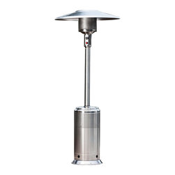 Paramount - 46,000 BTU Pro Series Stainless Steel Patio Heater - The Pro Series Stainless Steel Propane Patio Heater is truly a professional grade patio heater. The Pro Series was created for the rigours of commercial use which require extreme durability and dependability. However, the Pro Series is ideal for residential users who demand the best patio heater on the market.