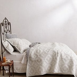 Anthropologie - Cambridge Coverlet - *Cotton