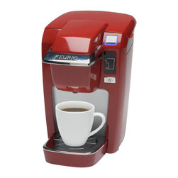 Keurig - Keurig K10 Mini Plus Personal Single Serve Coffee Maker, Red - Features: