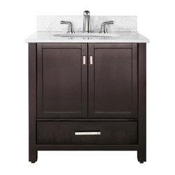 "Avanity - Avanity Modero 36 Vanity Cabinet Only, Espresso (MODERO-V36-ES) - Avanity MODERO-V36-ES Modero 36"" Vanity Cabinet Only, Espresso"