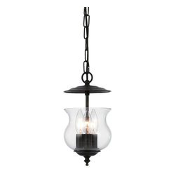 "Crystorama - Ascott Bell Jar - Traditional bell jar. Takes 3 - 60 w/c bulbs. Chain: 36"" Wire: 72"""