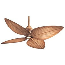 Ceiling Fans Gauguin Indoor-Outdoor Ceiling Fan With Light by Minka Aire, Beige