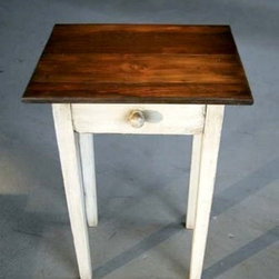 Small End Table with Drawer - Made by http://www.ecustomfinishes.com