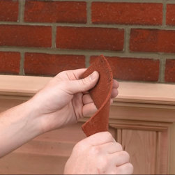FLEXIBRICK - Flexi-brick Burned Red, Corner, 32 Bricks - Flexi-brick Burned Red, Corner, 32 Bricks