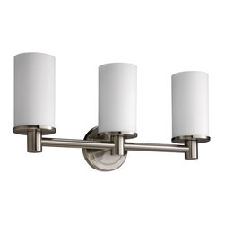 Gatco - Gatco 1687 Triple Sconce Bath Lighting from the Latitude� Collection - Triple Sconce Bath Lighting from the Latitude� CollectionThe finest in fashion bath, kitchen and home accessories. From traditional to contemporary, offering a variety of designer collections to compliment your style. Choose from many bathroom accessories such as towel bars, mirrors, grab bars, shower curtain rods, hooks, and free standing and counter top accessories.Gatco's Premier collections are constructed of the finest brass. Our high quality pieces are fabricated under a process know as forging. Forging is the ideal manufacturing process for creating smooth and precise detail of solid brass. Our finishes are the finest in the industry with each piece hand polished to perfection.Features: