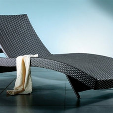 Contemporary Outdoor Chaise Lounges by DefySupply.com
