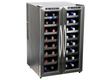 contemporary wine and beer refrigeration by Sears