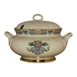 Lenox - Lenox Autumn (Gold Back Stamp) Tureen & Lid - Lenox Autumn (Gold Back Stamp) Tureen & Lid