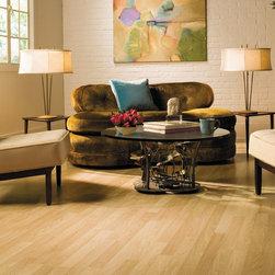 CLASSIC Vermont Maple Quick-Step Laminate Flooring - Classic Vermont Maple 3-Strip Planks