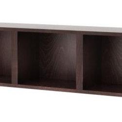 IKEA of Sweden - BILLY Wall shelf - Wall shelf, black-brown
