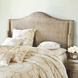 Ashton Headboard - This headboard is seriously amazing. I love the texture and subtle pattern. I've never seen anything like it.