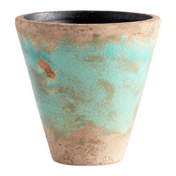 Cyan Design - Cyan Design Lighting - 05435 Small Cane Planter - Cyan Design 05435 Small Cane Planter