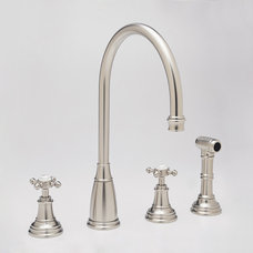 traditional kitchen faucets by Rebekah Zaveloff | KitchenLab