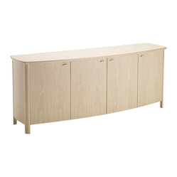 Skovby - Solid Beech Buffet - With two drawers, four shelves and infinite style, this buffet effortlessly combines convenience and refinement. Sturdy, spacious and stylish, it's a modern must have for your dining room.